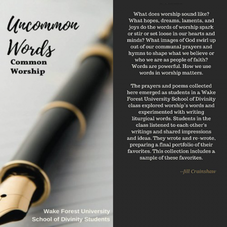 Wake Forest University School of Divinity | Liturgical