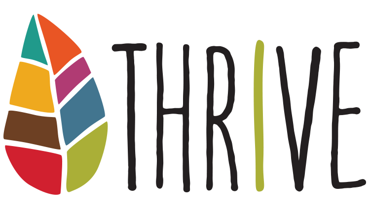Logo for the Thrive campaign at Wake Forest University