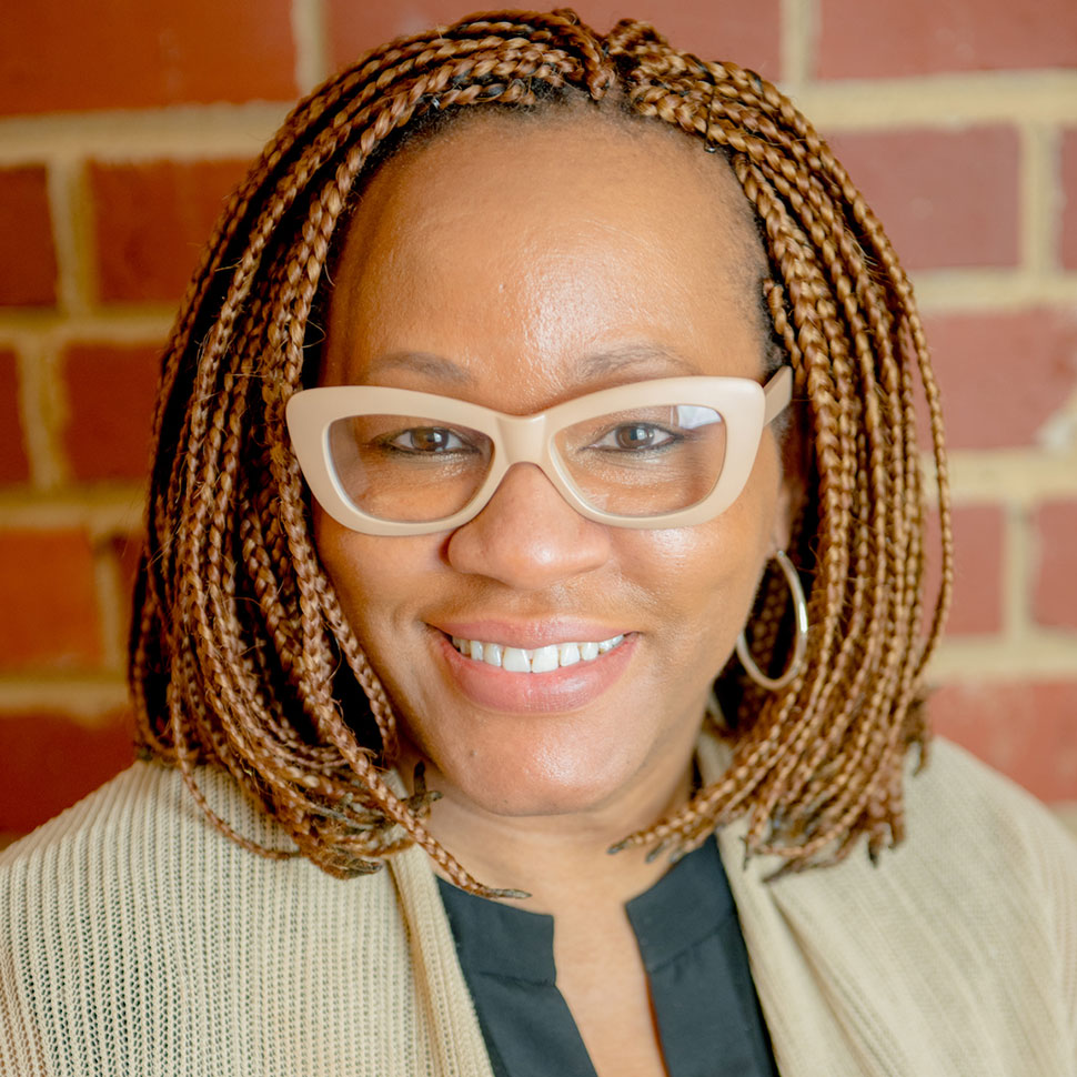 School of Divinity staff member Shonda Jones