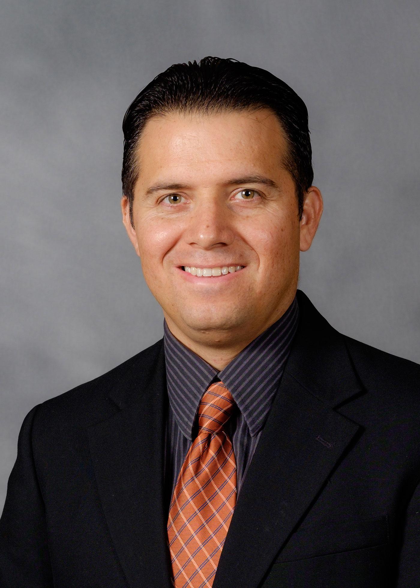 School of Divinity faculty member Erik Estrada