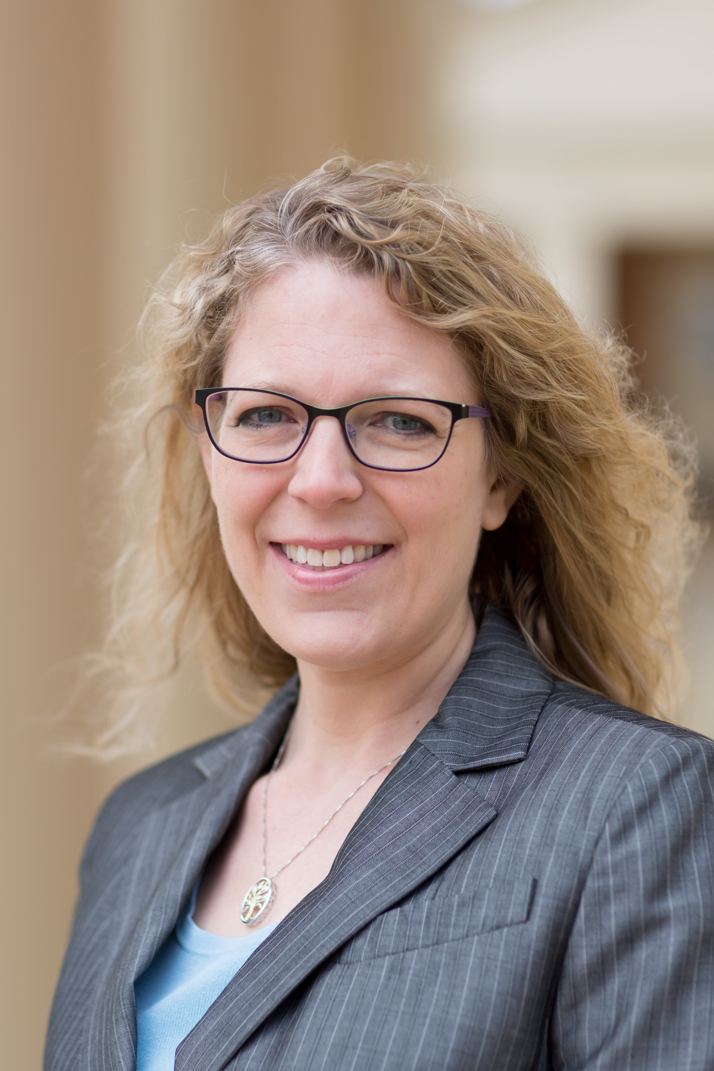 School of Divinity faculty member Michelle Voss Roberts