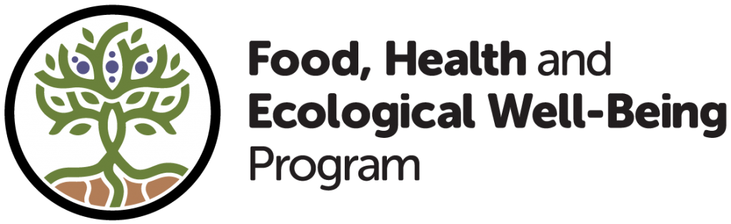 Logo for the School of Divinity's Food, Health, and Ecological Well-Being Program
