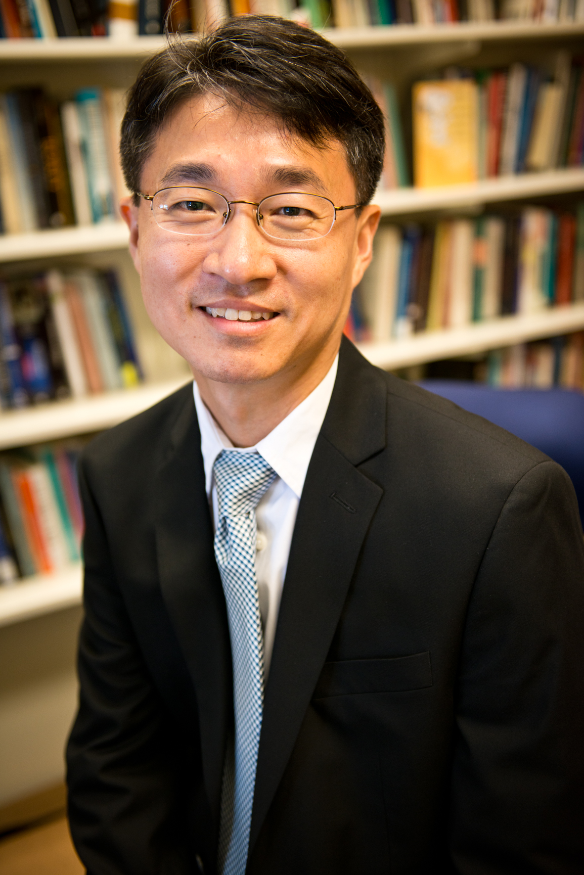 School of Divinity faculty member Kevin Jung