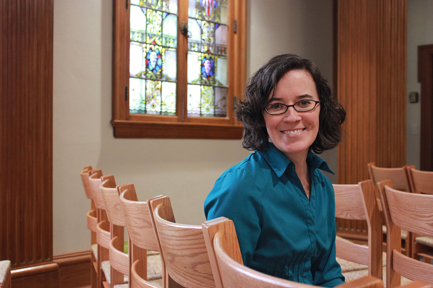 School of Divinity faculty member Liz Gandolfo