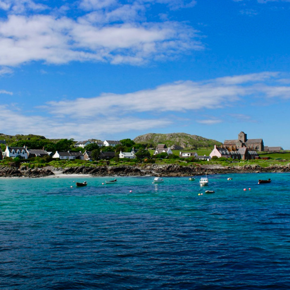 School of Divinity students travel to the Isle of Iona, Summer 2017