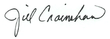 Digital Signature of Jill Crainshaw