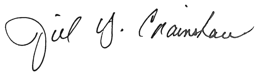 Digital signature of School of Divinity professor Jill Crainshaw