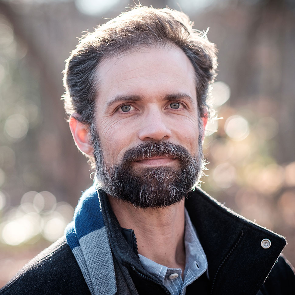 Fred Bahnson, Director of the Food, Health, and Ecological Well-Being Program, and Assistant Professor of the Practice of Ecological Well-Being