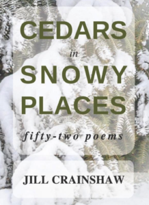 "Cover art for ""Cedars in Snow Places"" by School of Divinity faculty member Jill Crainshaw"