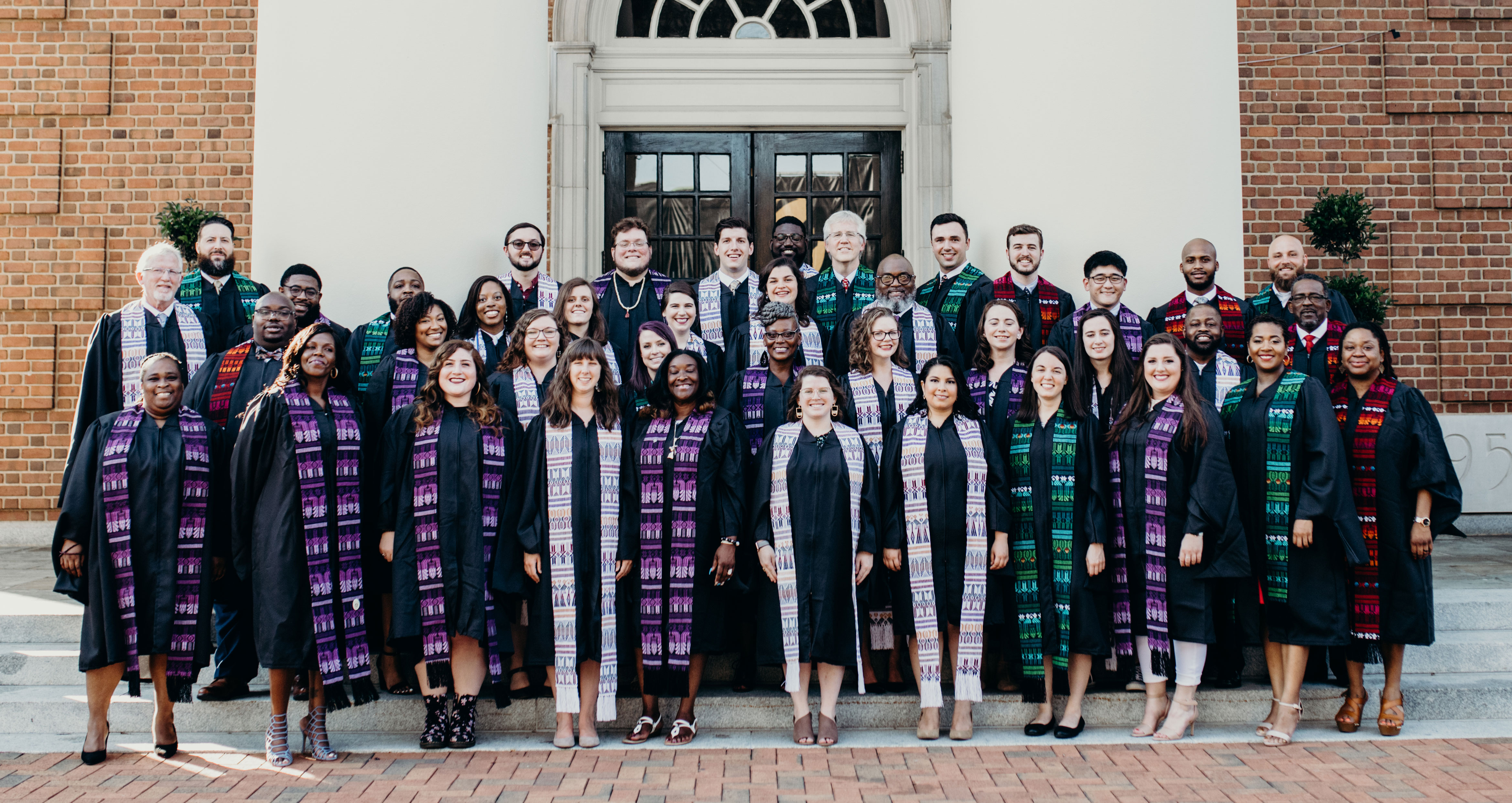Group photo of the School of Divinity Class of 2019
