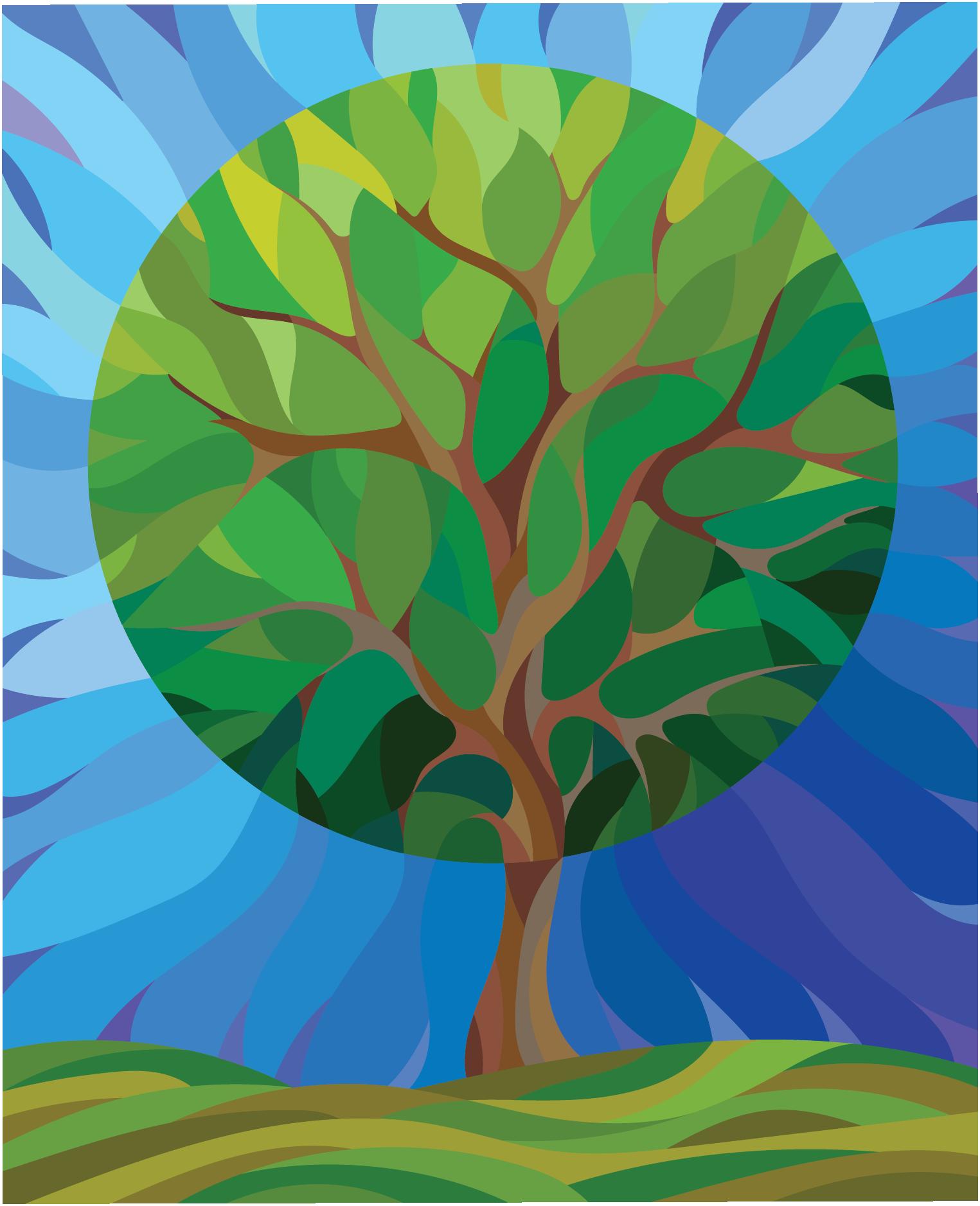 20th Anniversary Logo Tree