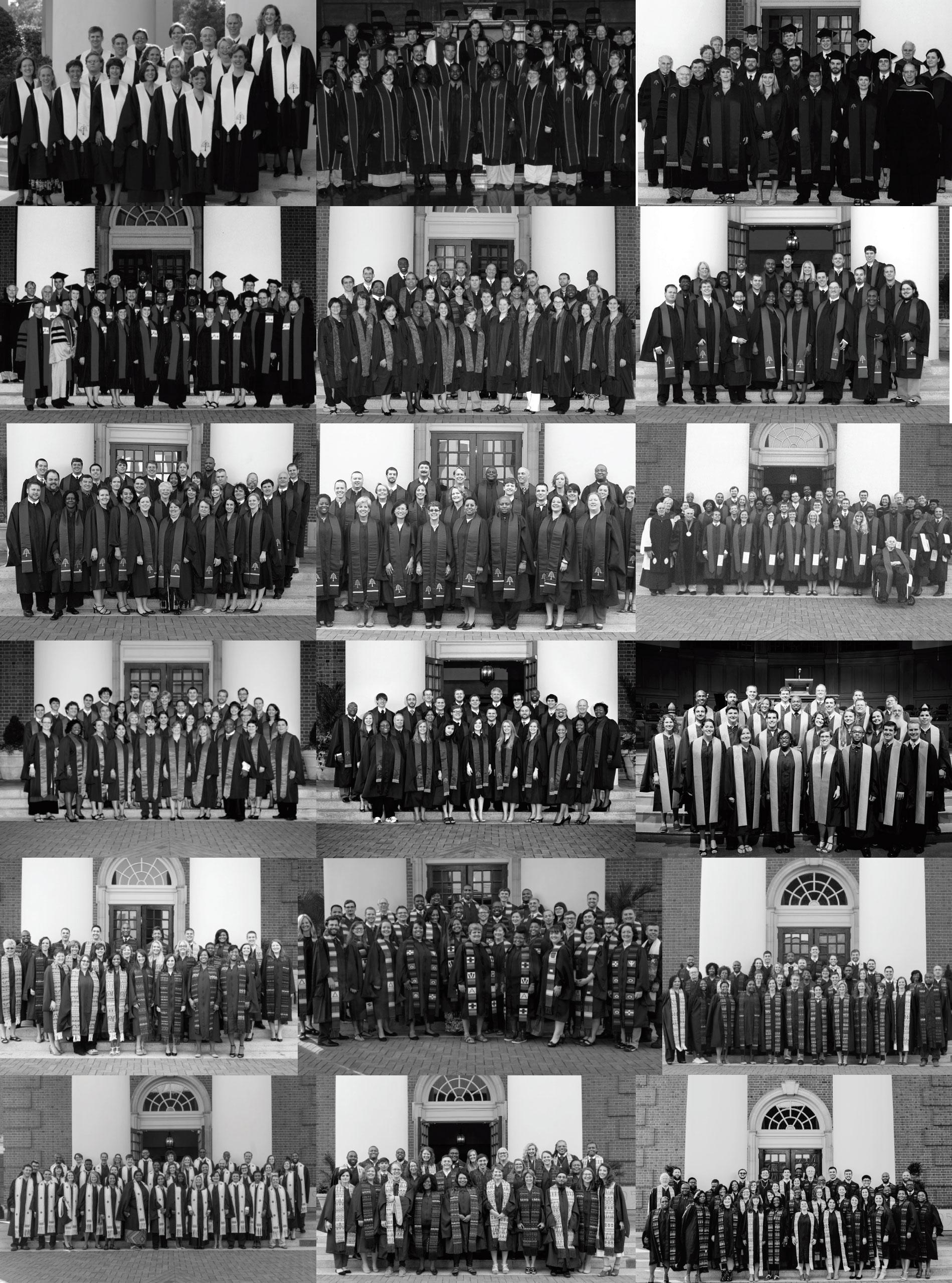 Master of Divinity Graduates, 2002 - 2019