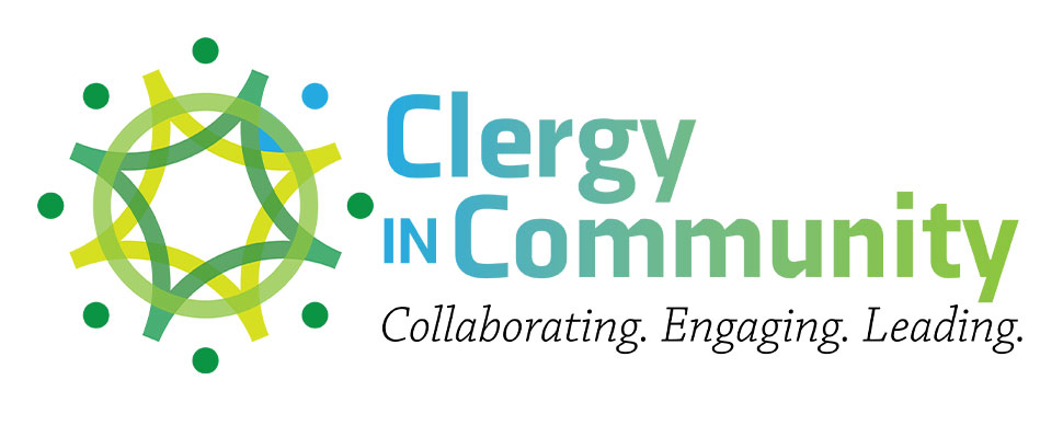 Logo identity for the School of Divinity's Clergy in Community continuing education program