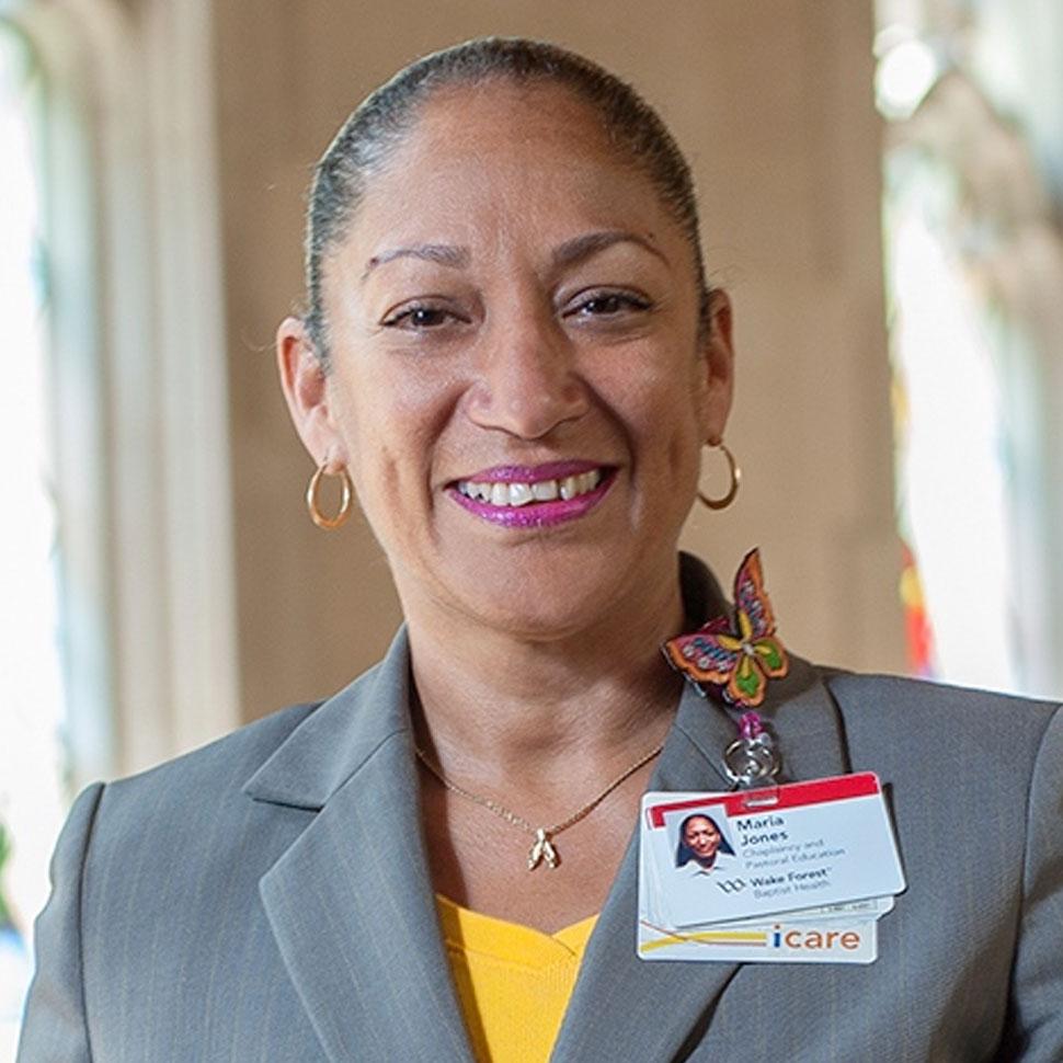 Rev. Maria Jones (MDiv '12)