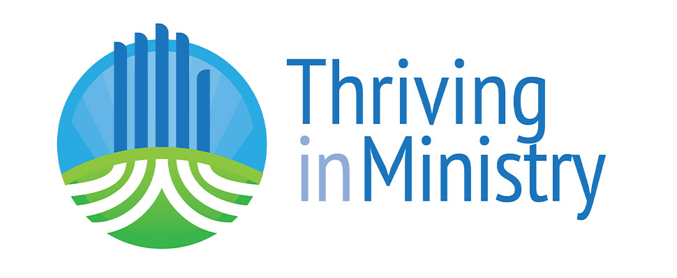 Logo identity for the School of Divinity's Thriving in Ministry continuing education program