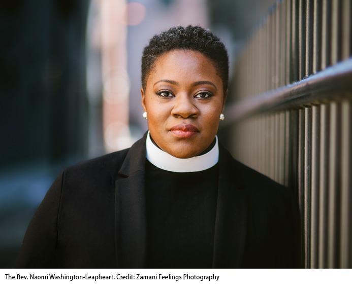 Headshot of Naomi Washington-Leapheart by Zamani Feelings Photography