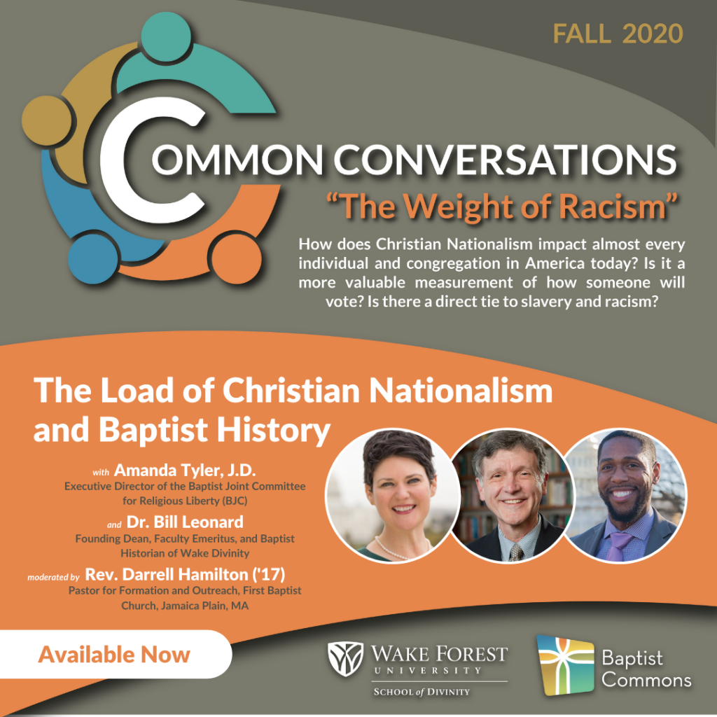 Load of Christian Nationalism and Baptist History