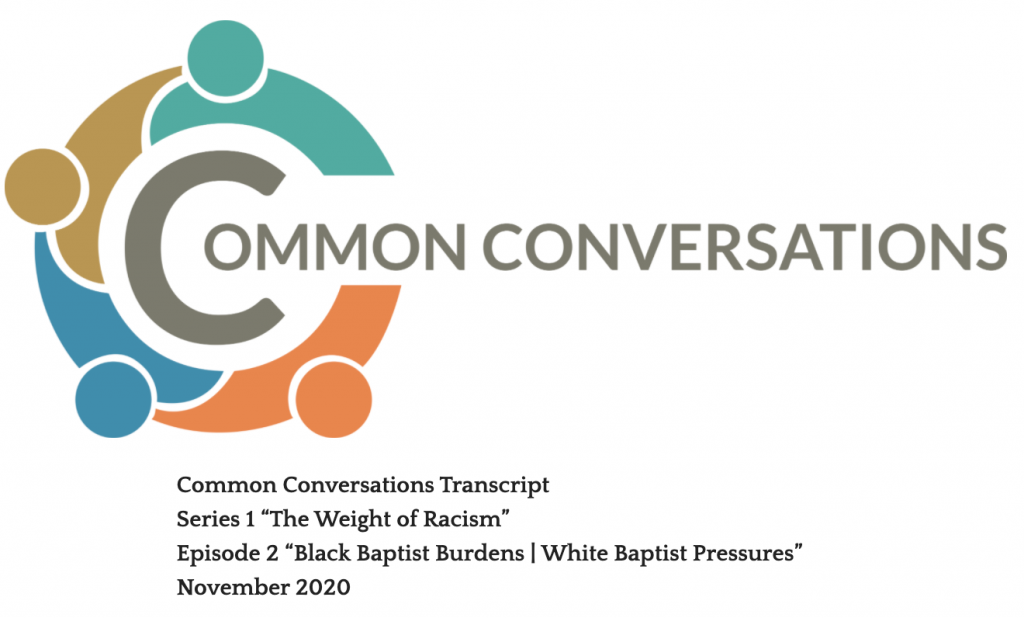 Common Conversations Series 1 Episode 2 Transcript
