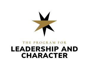 the Program for Leadership and Character logo