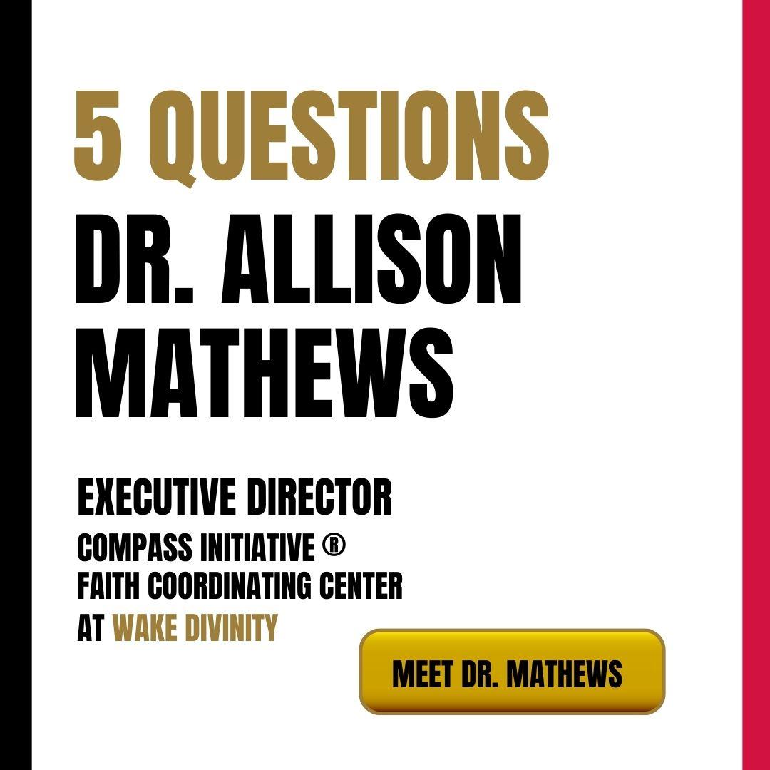 Meet Dr. Mathews