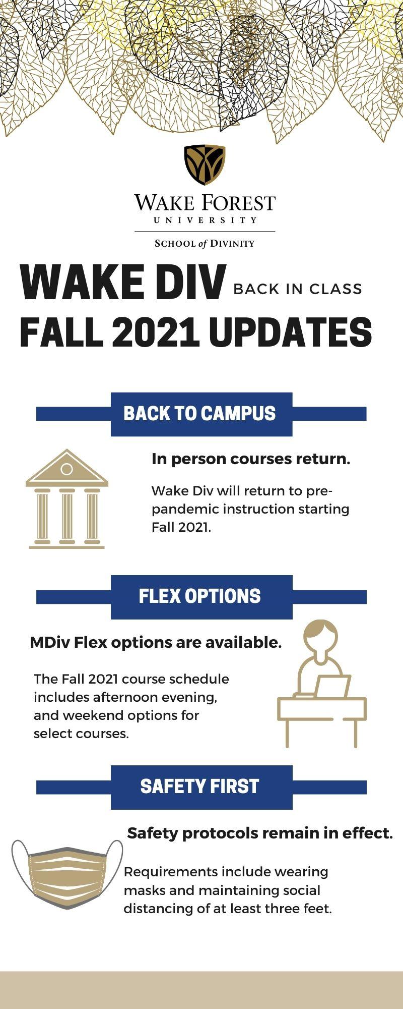 Fall 2021 Updates