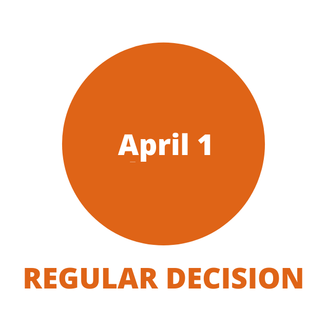 Regular Decision April 1