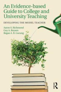 Book Evidence-based Guide to College and University Teaching