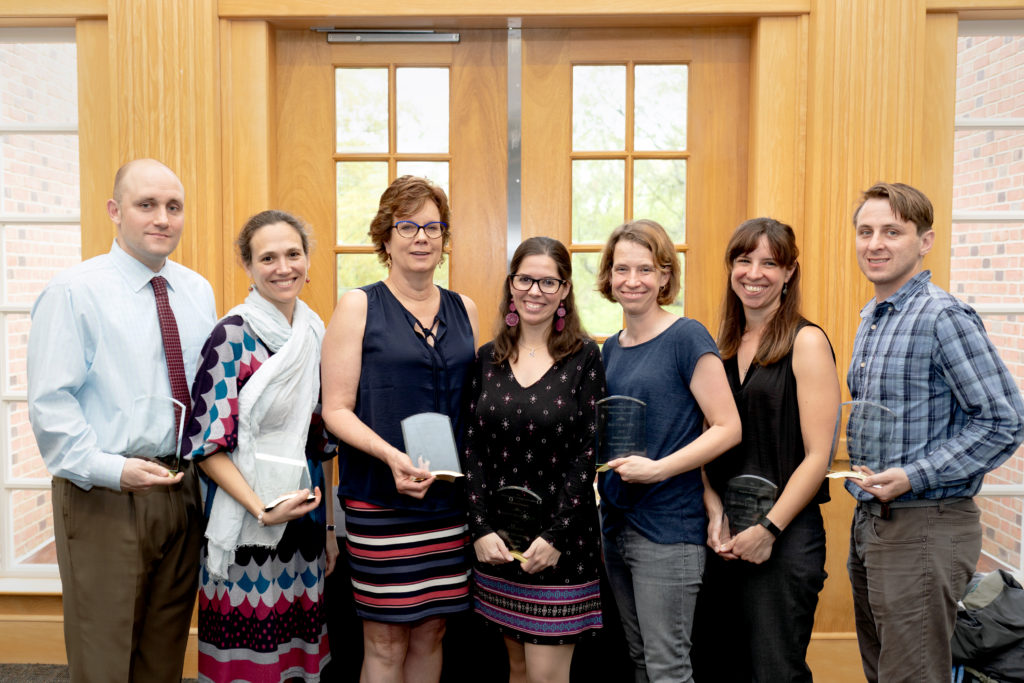 2019 Teaching Award Winners