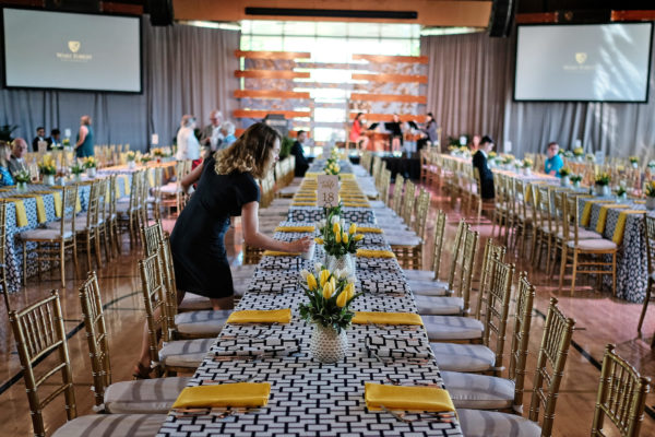 Tablescape for Big Event