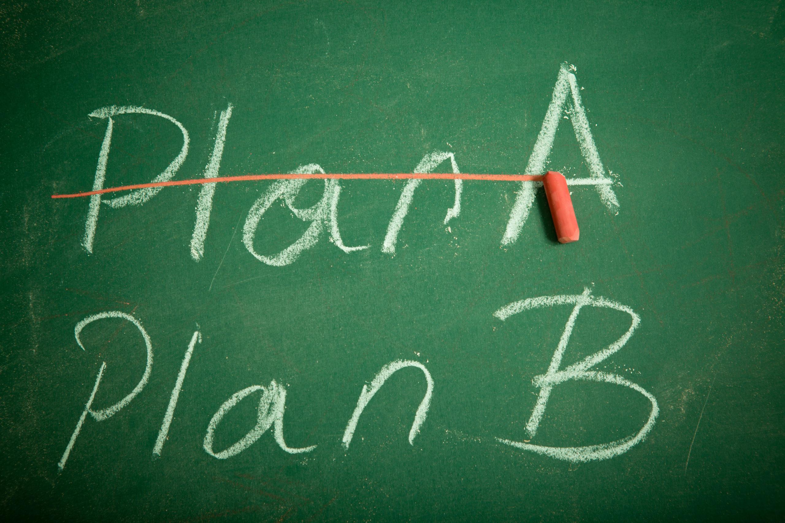 Plan A/Plan B