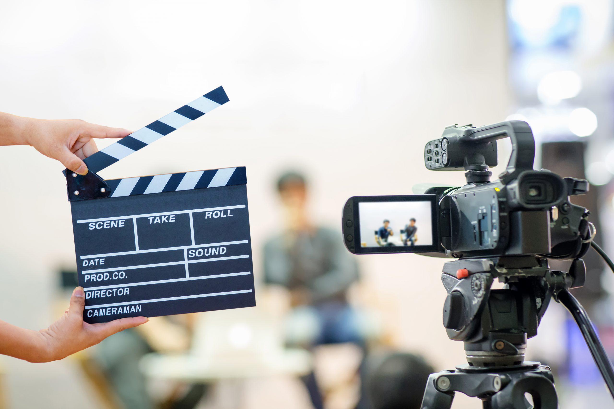 video camera, scene