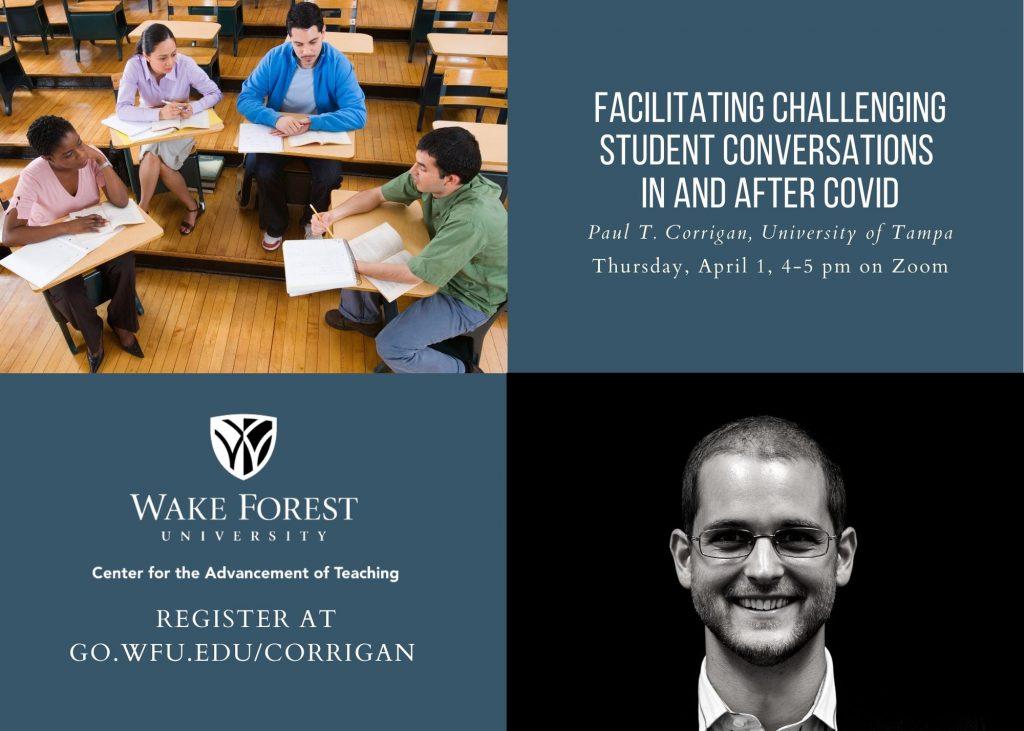 Corrigan Talk Postcard