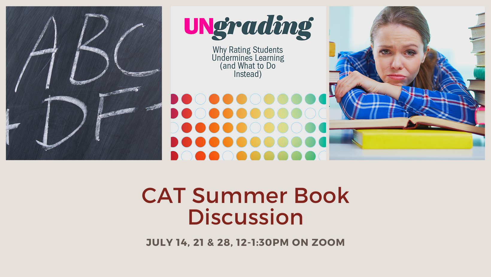 ungrading book discussion graphic