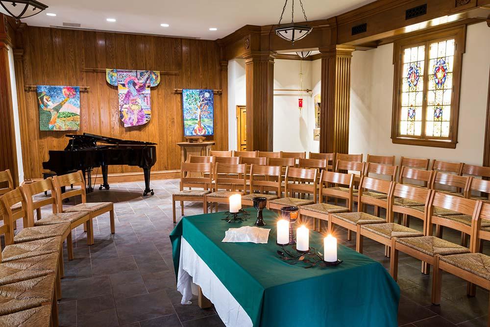Davis Chapel Interior