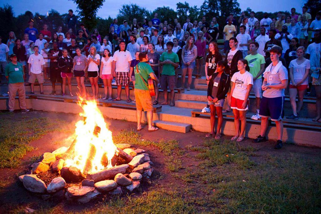 Campfire at Summit