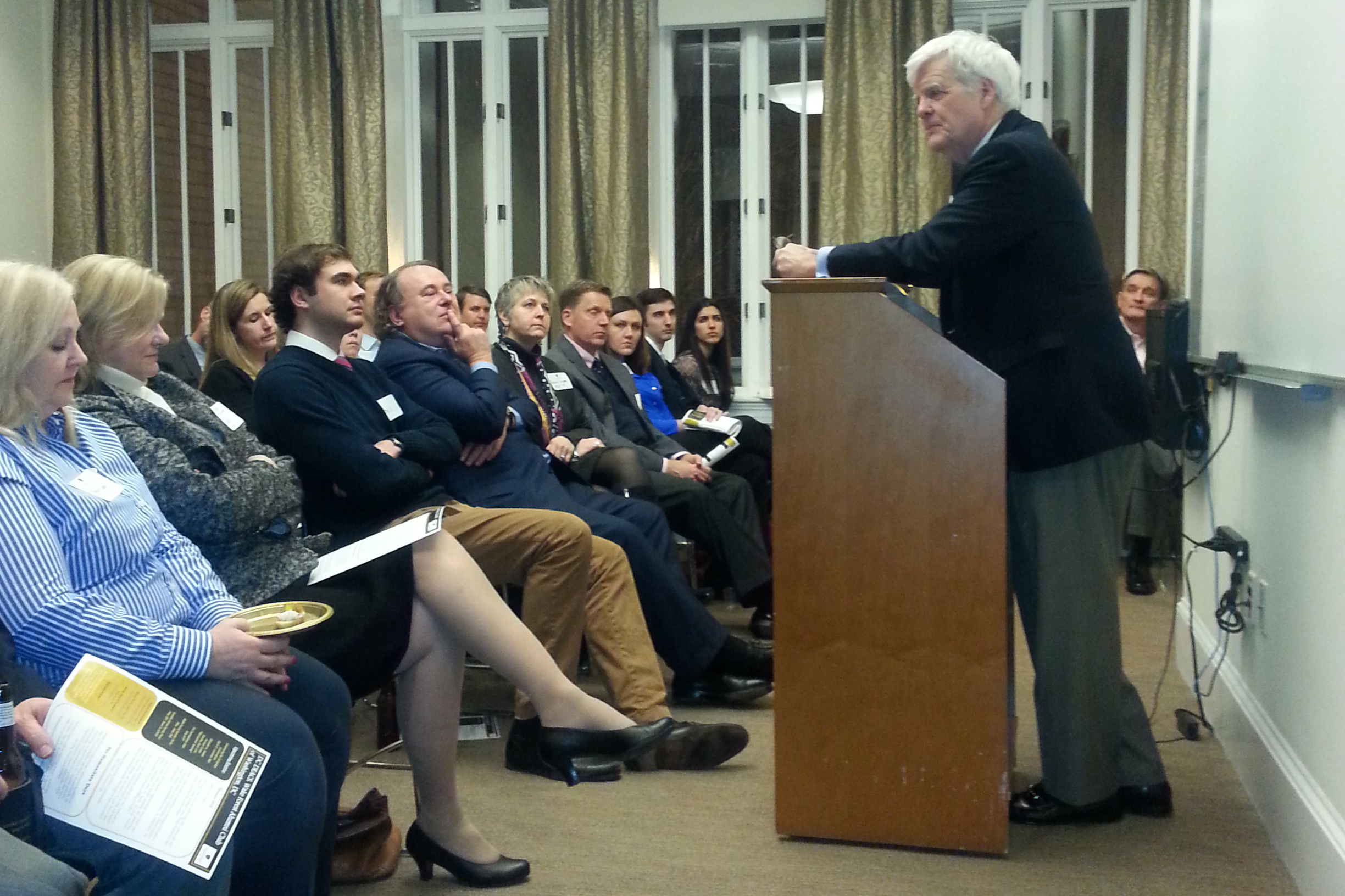 Alumni hear from journalist Al Hunt ('65, P'11)