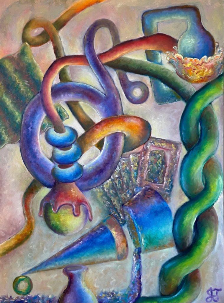 """Forbidden Fruit"" by artist Jacob Thomas"