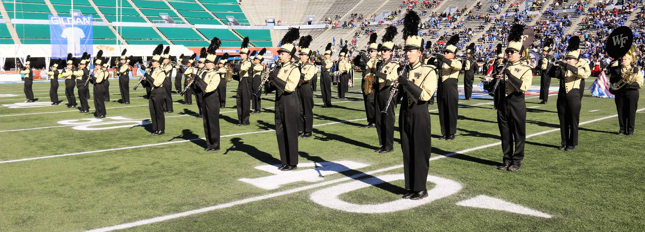 Wake Forest University Athletic Bands | The Spirit of the Old Gold