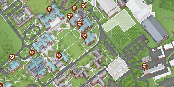 Salem College Campus Map.Maps About Wake Forest Wake Forest University
