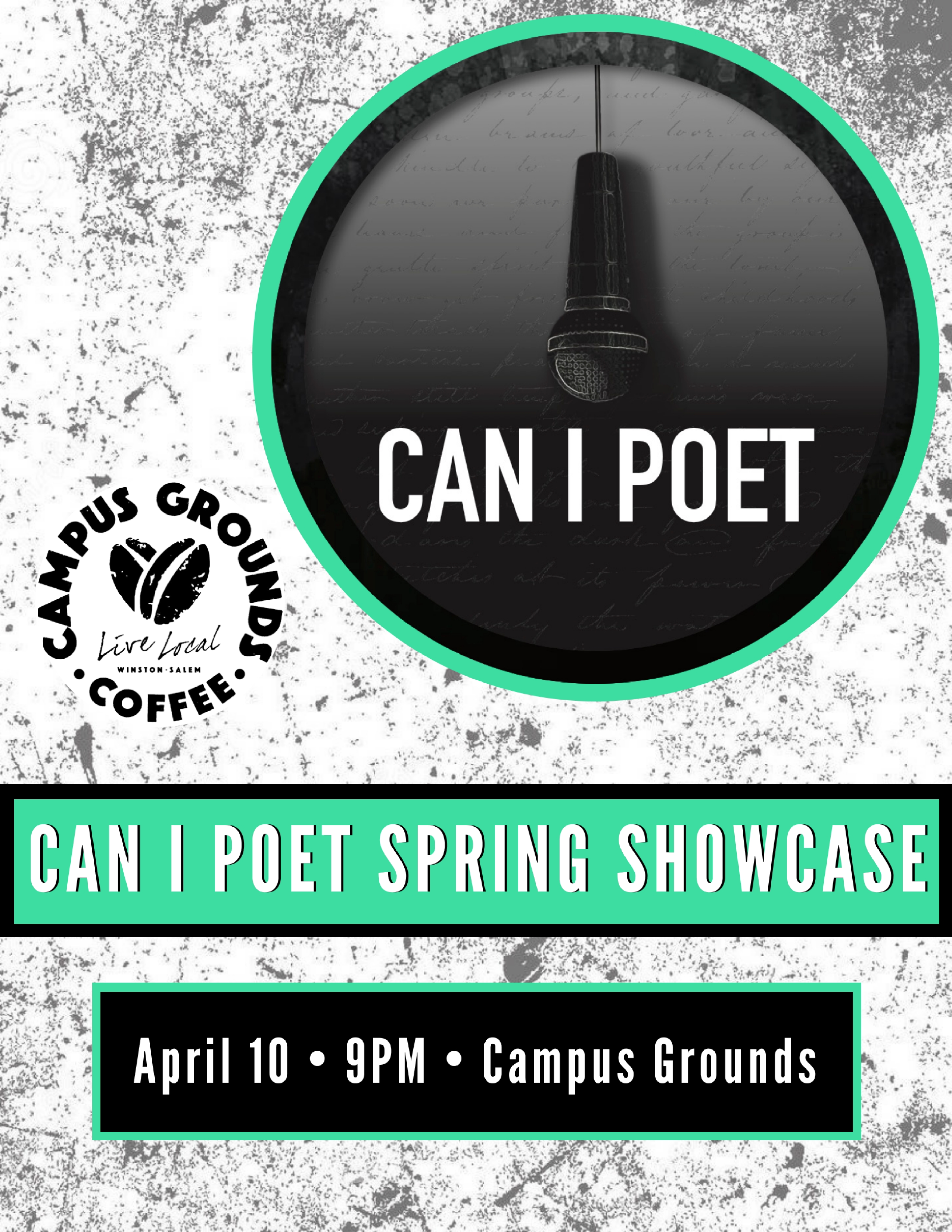 Can I Poet Showcase