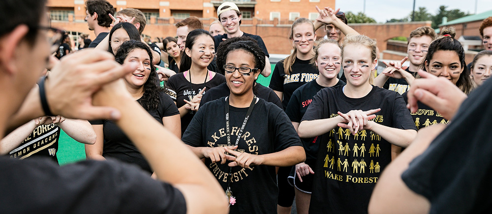 WFU students