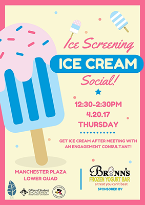 Ice Screening Social April 20 Manchester Plaza