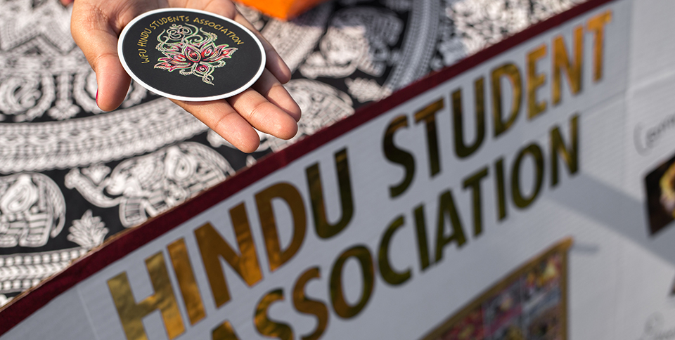 Hindu Student Association is one of many opportunities to learn about at the WFU Fall Student Involvement Fair