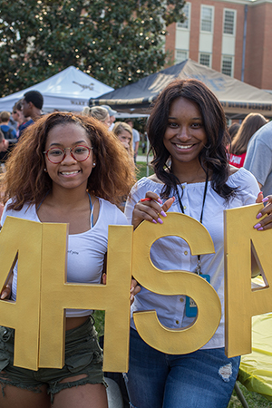 ASHA at the WFU Fall Student Involvement Fair