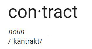 contract definition