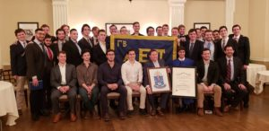 Charter brothers and Former Masters with charter