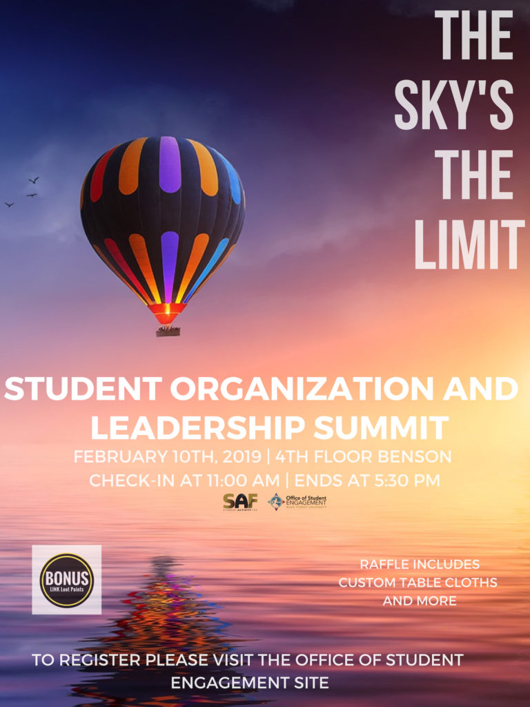 Student Org Summit