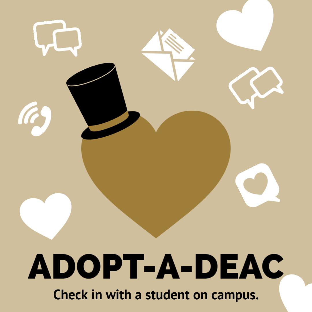 Adopt-A-Deac Flyer