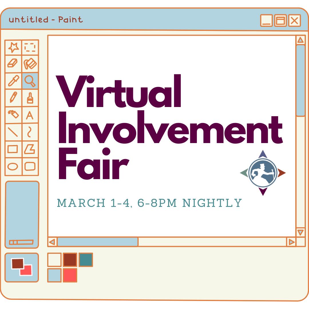 Virtual Involvement Fair Flier