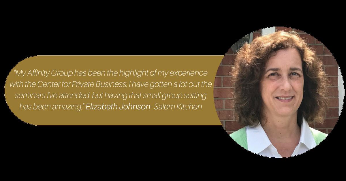 Elizabeth Johnson quote transparent background